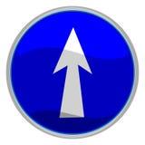 Signe de flèche Images stock