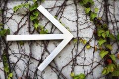 Signe de flèche directionnelle Images libres de droits