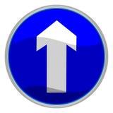 Signe de flèche Photographie stock libre de droits
