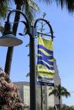 Signe de Fort Lauderdale de promenade de rivière Image stock
