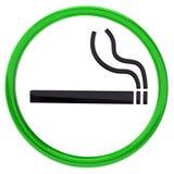 Signe de fumage Photographie stock libre de droits