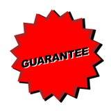 Signe de garantie illustration libre de droits