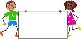 Signe de gosses illustration de vecteur