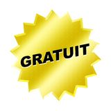 Signe de Gratuit Photos libres de droits