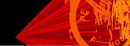 Signe de grunge de vitesse de vecteur Image libre de droits