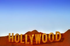 Signe de Hollywood Photo stock