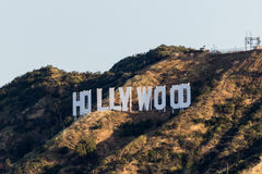 Signe de Hollywood images libres de droits