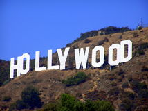 Signe de Hollywood, Los Angeles, Etats-Unis Images libres de droits