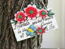 Signe de jardin Images stock