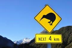 Signe de kiwi photo stock