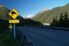 Signe de kiwi Photo libre de droits