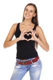 Signe de l'amour et de la gentillesse Images stock