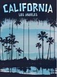 Signe de la Californie Los Angeles illustration de vecteur