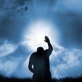 Signe de la foi Images libres de droits