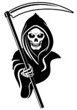 Signe de la mort Image stock