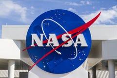 Signe de la NASA images libres de droits