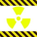 Signe de la radioactivité illustration libre de droits