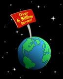 Signe de la terre Photographie stock