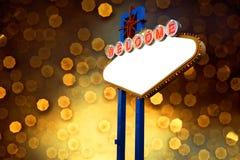 Signe de Las Vegas Photo stock