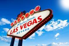 Signe de Las Vegas Images libres de droits