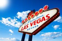 Signe de Las Vegas Photos libres de droits