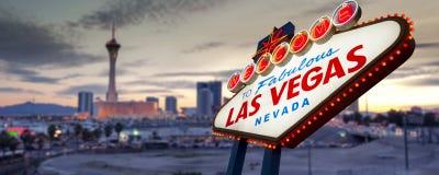 Signe de Las Vegas image stock