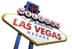 Signe de Las Vegas, Nevada Photo stock