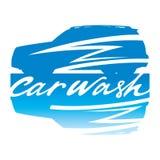 Signe de lavage de voiture Image libre de droits