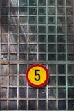 Signe de limitation de vitesse Photos libres de droits