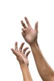 Signe de main Images libres de droits