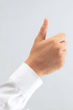 Signe de main Image libre de droits