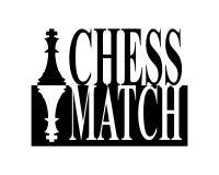 Signe de match d'échecs illustration de vecteur