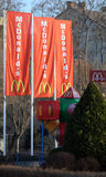 Signe de McDonalds Images stock