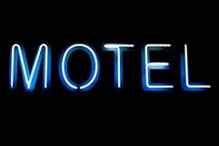 Signe de motel photographie stock