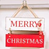 Signe de Noël Photographie stock libre de droits