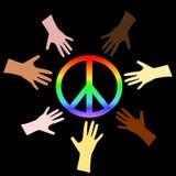 Signe de paix illustration de vecteur