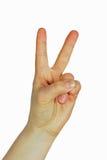 Signe de paix Image libre de droits