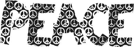 Signe de paix Images libres de droits