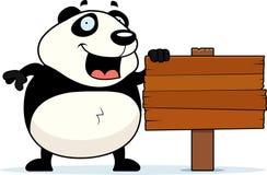 Signe de panda Illustration Libre de Droits