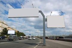 Signe de panneau-réclame. Photo libre de droits