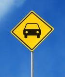 Signe de parking Images libres de droits