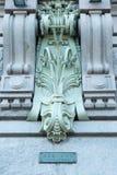 Signe de perspective de Nevsky Image stock