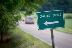 Signe de pont Images stock