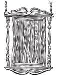 Signe de pub d'olde du YE illustration de vecteur