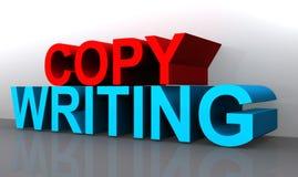 Signe de rédaction publicitaire illustration libre de droits