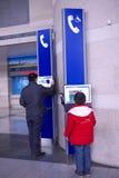 Signe de réseau téléphonique Photos stock