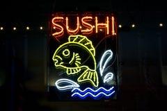 Signe de restaurant de sushi Photo libre de droits