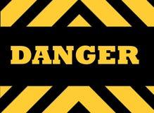 Signe de risque de danger illustration de vecteur