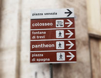 signe de Rome Photo stock