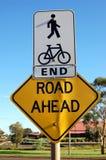 Signe de route photo libre de droits